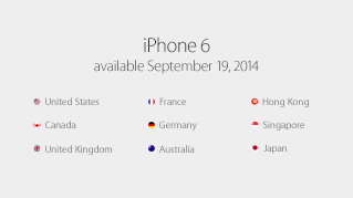 iphone6発売日